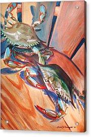 Maryland Blue Crabs Acrylic Print