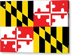 Maryland State Flag Acrylic Print