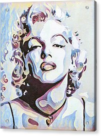 Marylin Monroe Acrylic Print