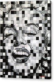 Marylin I Acrylic Print