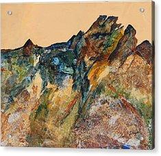 Mary's Mountain Acrylic Print