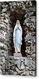 Marys Prayer Acrylic Print