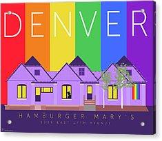 Mary's Rainbow Acrylic Print