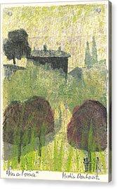 Mas En Provence Acrylic Print by Martin Stankewitz