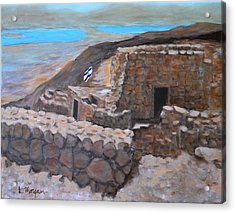 Masada Acrylic Print