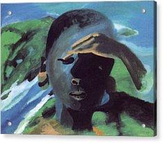 Masai Acrylic Print