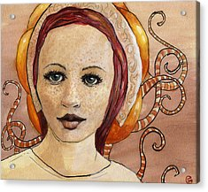 Mascara Acrylic Print by Ethan Harris