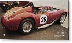 Maserati 450 S Acrylic Print by Curt Johnson
