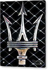 Maserati Emblem Acrylic Print