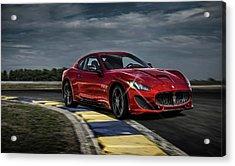 Maserati Gran Turismo G T Sport Acrylic Print by Movie Poster Prints