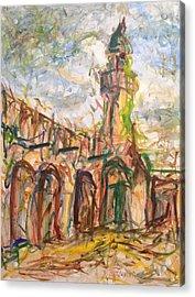 Masjed II Acrylic Print by Khalid Alzayani