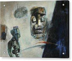 Symbol Mask Painting -02 Acrylic Print
