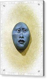 Mask 1 Acrylic Print