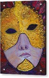 Mask Acrylic Print by Birgit Schlegel