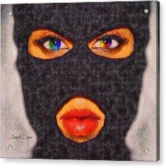 Mask - Da Acrylic Print