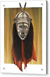 Mask I Untitled Acrylic Print