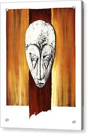 Mask II Untitled Acrylic Print