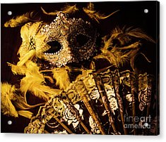 Mask Of Theatre Acrylic Print