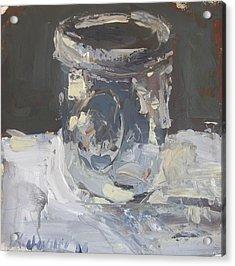 Acrylic Print featuring the painting Mason Jar  by Robert Joyner
