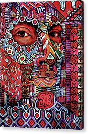 Masque Number 4 Acrylic Print
