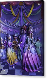 Masquerade Ball Mari Gras Acrylic Print by Garry Gay