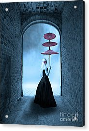 Acrylic Print featuring the photograph Masquerade by Juli Scalzi