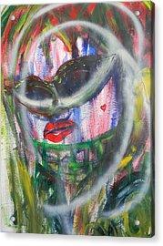 Masquerade Acrylic Print