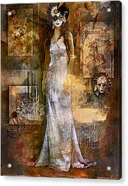 Masquerade Acrylic Print by Phil Clark