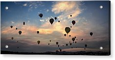 Mass Ascension Pano Acrylic Print