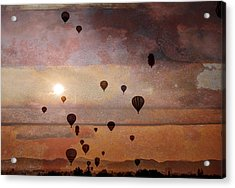 Mass Ascension Acrylic Print