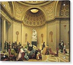Mass In The Expiatory Chapel Acrylic Print