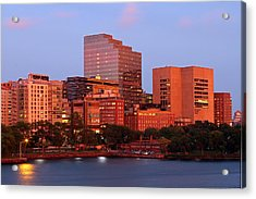 Massachusetts General Hospital Acrylic Print by Juergen Roth