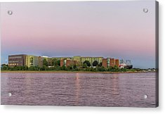 Massachusetts Maritime Academy At Sunset Acrylic Print