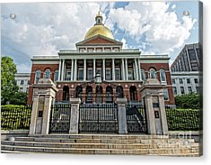 Massachusetts State House Acrylic Print