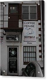 Massapequa Perk Home Of Jack Rice Coffee Acrylic Print
