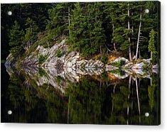 Massasauga Park Reflection Acrylic Print