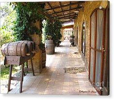 Masseria - Farm In Apulia Acrylic Print by Italian Art