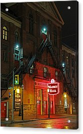 Massey Hall  Acrylic Print