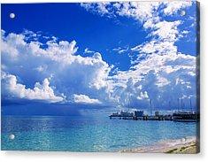 Massive Caribbean Clouds Acrylic Print