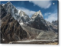 Acrylic Print featuring the photograph Massive Tabuche Peak Nepal by Mike Reid