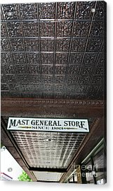 Acrylic Print featuring the photograph Mast General Store II by Skip Willits