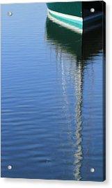 Mast Reflections Acrylic Print by Karol Livote