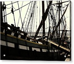 Master And Commander V2 Acrylic Print by Douglas Barnard