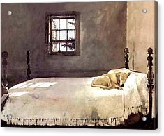 Acrylic Print featuring the painting Master Bedroom  by Andrew Wyeth