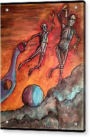Master Minds Of Mars, The Voices Of Time Acrylic Print