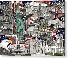 Masterpiece America Acrylic Print