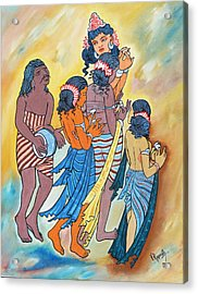 Masterpiece In Art Acrylic Print by Ragunath Venkatraman