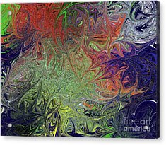 Masters Mindscape Acrylic Print by Roxy Riou