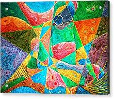 Mat Weaver Acrylic Print