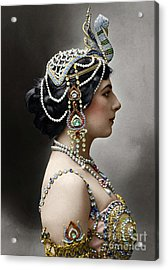 Acrylic Print featuring the photograph Mata Hari by Granger